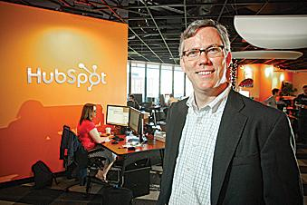 HubSpot CEO offers insight for startups