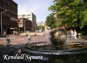 Bustling Kendall Square
