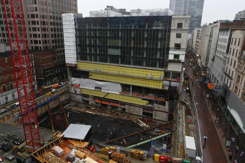 Downtown Crossing Constructions