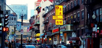 Boston Chinatown shrinking or expanding?
