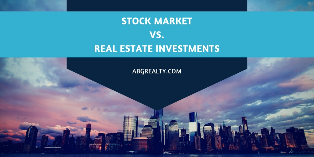 Stock Market Volatility Makes Real Estate a Solid Investment