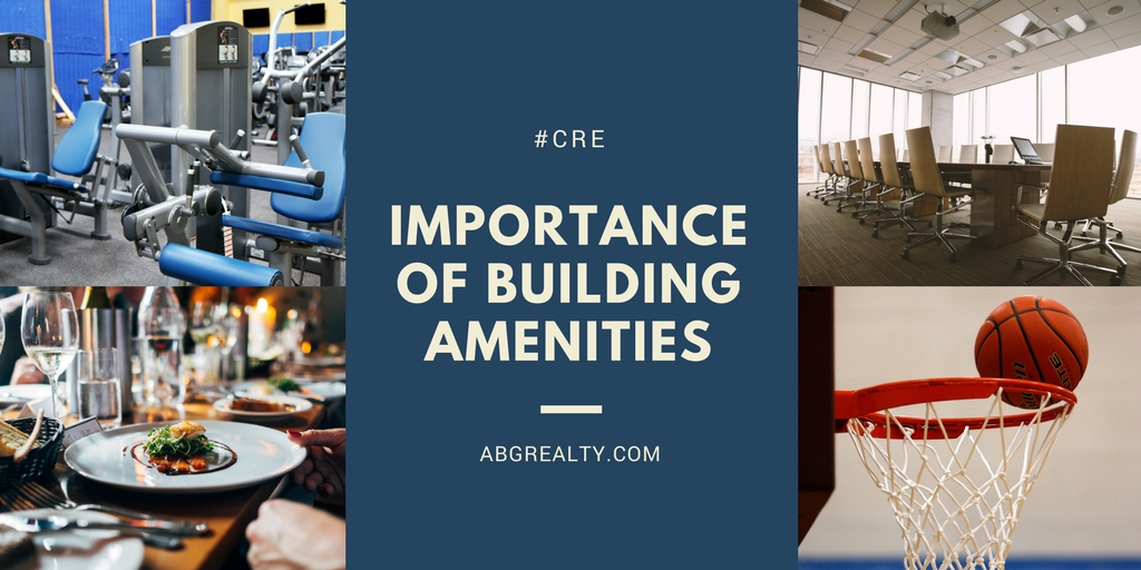 IMPORTANCE OF BUILDING AMENITIES