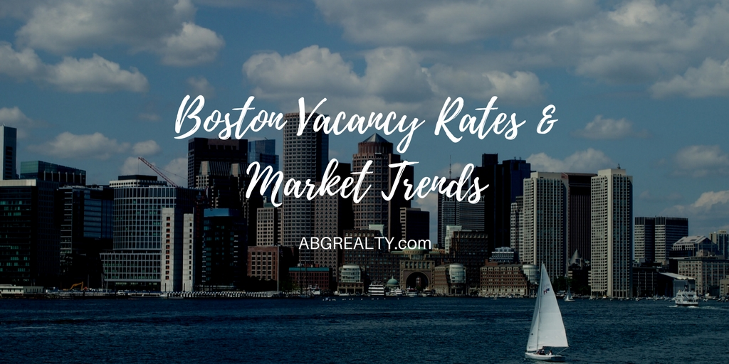 Boston Office Space Vacancy Rates and Market Trends