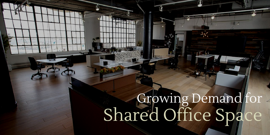Growing Demand for Shared Office Space in Boston