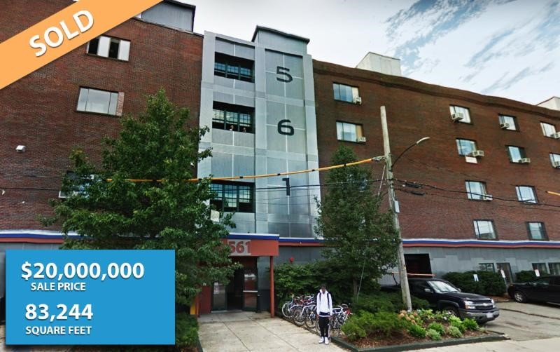 SOLD: $20 Million | 83,224 SF | Somerville, MA