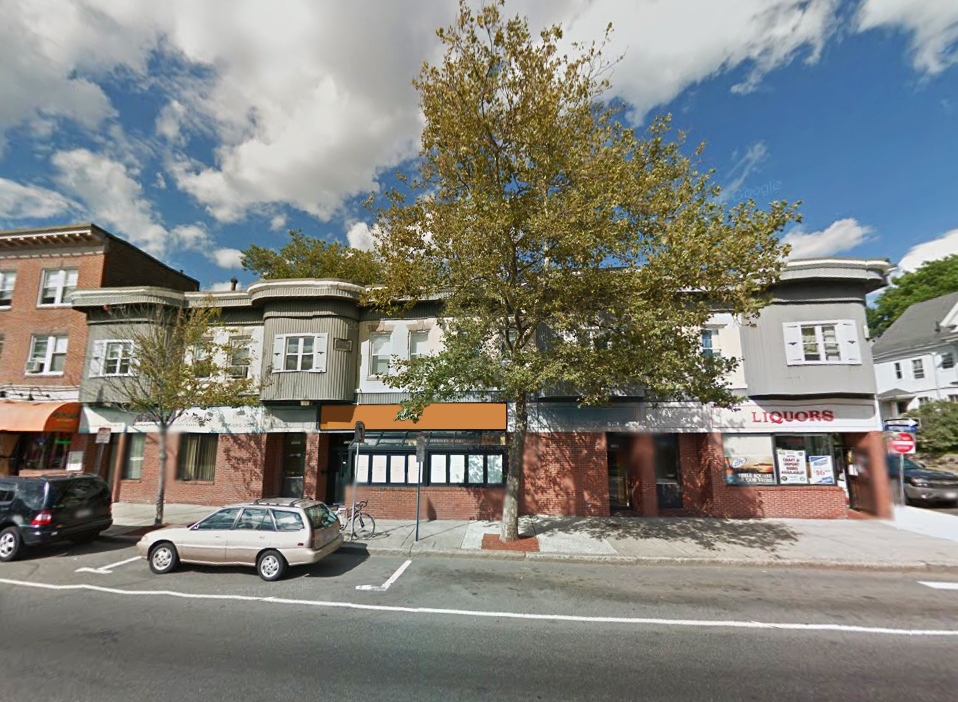 Restaurant Space For Lease In Teele Square With Full Liquor License