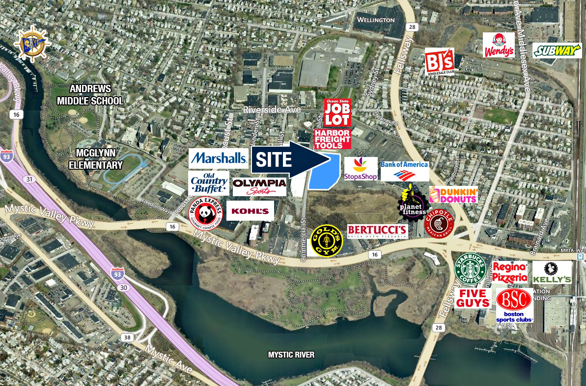 4.5 Acre Development Site For Lease