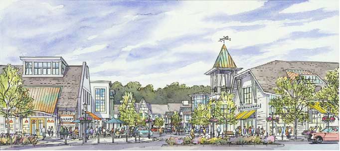 Build to Suit Restaurant Opportunity in The New Riverbridge Mixed Use Village
